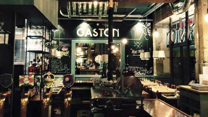 restaurant brasserie gaston nantes hotelrestovisio france. Black Bedroom Furniture Sets. Home Design Ideas