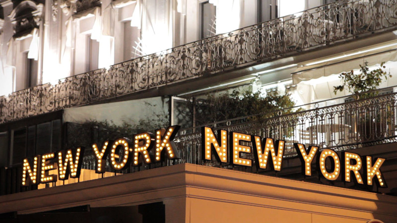 Restaurant New York New York - Cannes