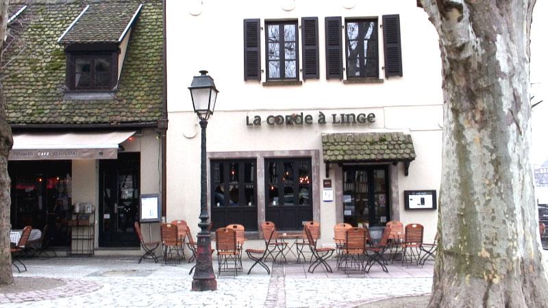 restaurant la corde linge strasbourg hotelrestovisio france