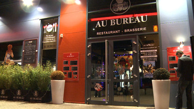 restaurant au bureau thionville thionville en vid o hotelrestovisio france. Black Bedroom Furniture Sets. Home Design Ideas