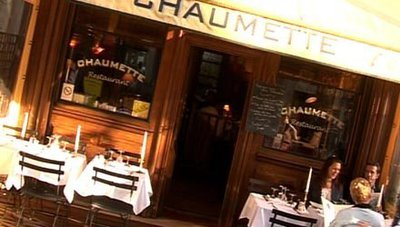 Restaurant Chaumette - Paris