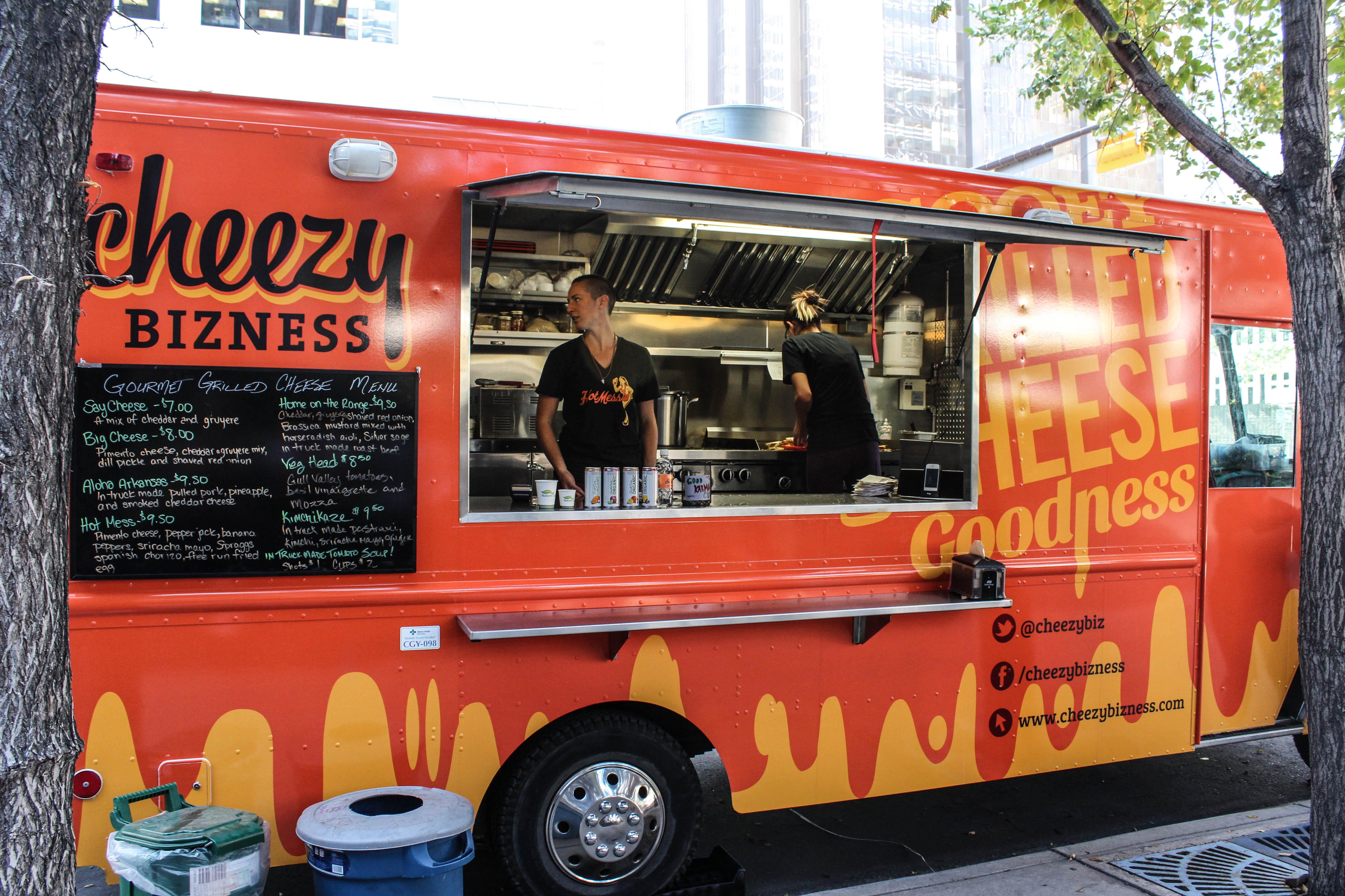 Marche En Avant Dans Food Truck