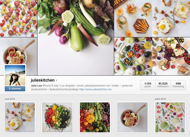 JuliesKitchen instagram