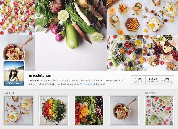 JuliesKitchen instagram