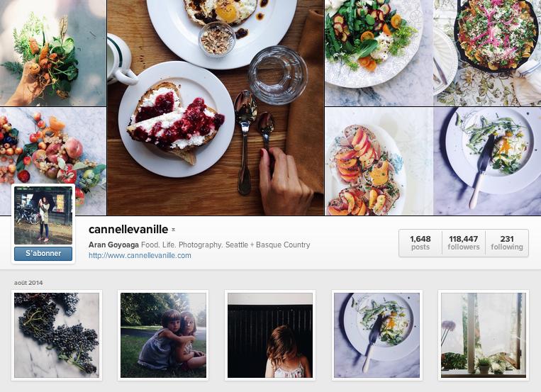 Cannellevanille instagram