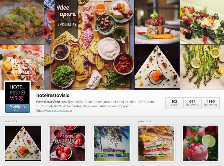 HotelRestoVisio instagram