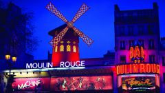 Le Moulin Rouge à Paris