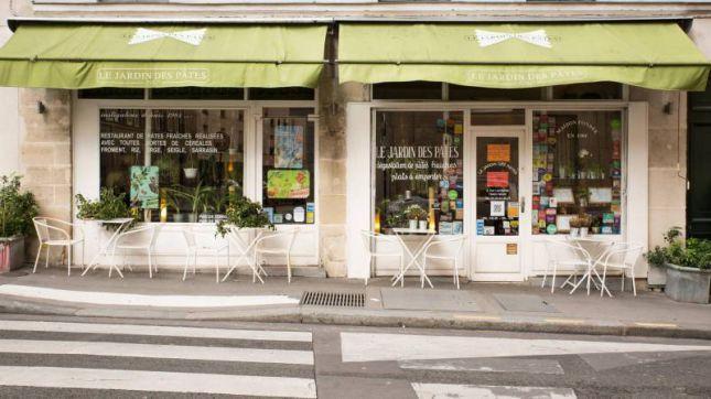 Restaurant jardin des p tes paris en vid o hotelrestovisio for Restaurant italien 95