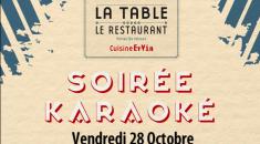 Soirée Karaoké - La Table