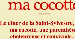 Le dîner de la Saint Sylvestre - Ma Cocotte