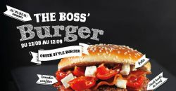 THE BOSS' BURGER - Au Bureau - Lomme