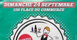 Course de garçon de café place du commerce à Nantes - Café du Commerce - Nantes