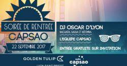 Soirée de rentrée radio Capsao - Le Cocon