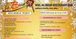 Menu noel 2017 - Le Break