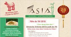 Fête du Têt 2018 - Restaurant Asia