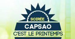 SOIREE CAPSAO - C'EST LE PRINTEMPS ! - Le Cocon