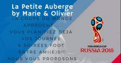 A la Petite Auberge aussi on va vibrer Foot pendant le mondial 2018 - La Petite Auberge