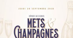 Dîner accord mets & champagnes - Les Bains Douches