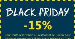 BLACK FRIDAY - Le Cocon