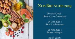 NOS BRUNCHS 2019 - Le Cocon