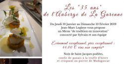 Les 35 ans de l'Auberge de la Garenne - L'Auberge de la Garenne
