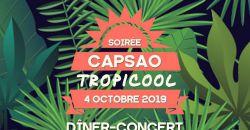 Soirée Capsao Tropicool - Le Cocon