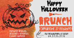 BRUNCH D'HALLOWEEN - Le Cocon
