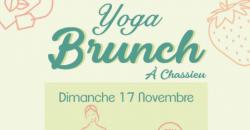 YOGA BRUNCH DU 17 NOVEMBRE - La Brasserie Flow