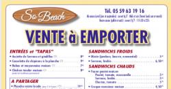 A Emporter - So Beach