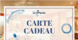 CARTES CADEAUX DIGITALES - La Marée Paris