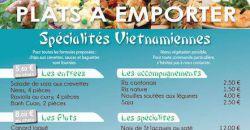 Plats à emporter - SPÉCIALITÉS VIETNAMIENNES - Restaurant Asia