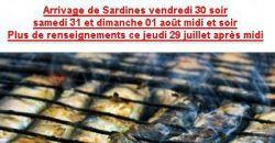 SARDINES - Le Pavillon Bleu