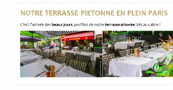 NOTRE TERRASSE PIETONNE EN PLEIN PARIS - Le Pharamond