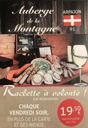 Vendredi raclette !