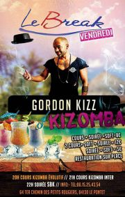 Vendredi cours et soirée kizomba avec Gordon