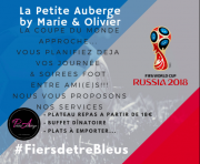 A la Petite Auberge aussi on va vibrer Foot pendant le mondial 2018