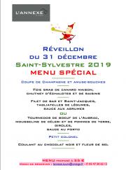 Menu Saint-Sylvestre