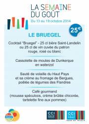 La Semaine du Goût au restaurant Le Bruegel