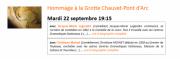Hommage à la Grotte Chauvet-Pont d'Arc