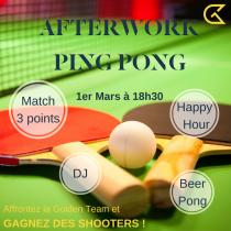 Afterwork Ping Pong