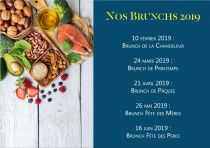 NOS BRUNCHS 2019