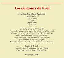 LES DOUCEURS DE NOEL