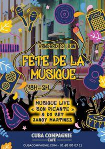 Fête de la Musique au Cuba Compagnie