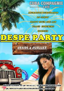 Beach Despe Party au Cuba Compagnie!!