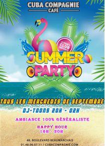 Summer Party au Cuba Compagnie!