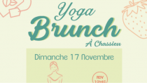 YOGA BRUNCH DU 17 NOVEMBRE