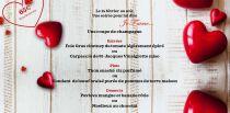 AMOUR & GOURMANDISE: VENDREDI 14 FEVRIER
