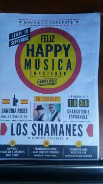 concert LOS SHAMANES
