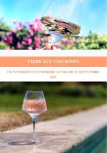 Foire aux vins Rosés