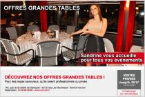DÉCOUVREZ NOS OFFRES GRANDES TABLES !